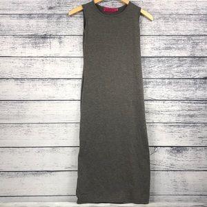 BooHoo Gray Maxi Dress U.S Size 6 EUC